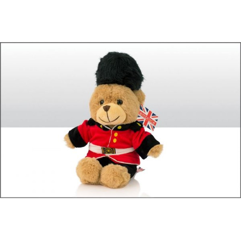 Guardsman Bear Soft Toy 18cm