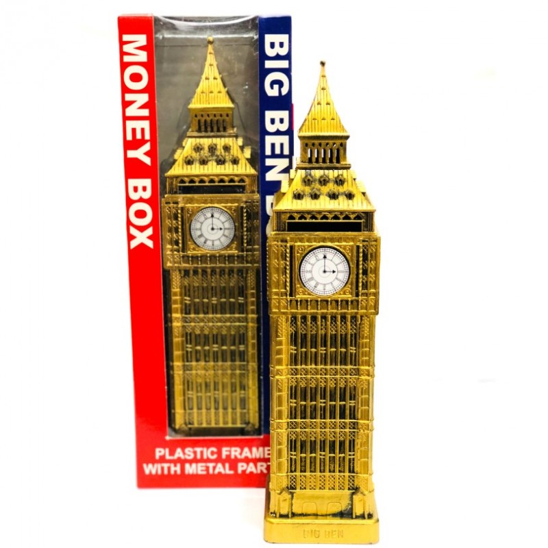 London Icon Big Ben Money Box Bank Toy Piggy Bank UK British Souvenir Gift