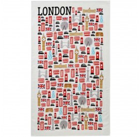 London Icons Tea Towels