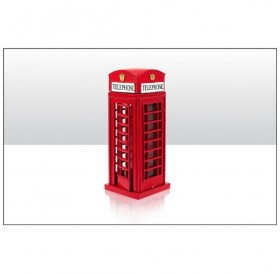 Red Telephone Box Pencil Sharpener