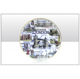 Historical London Collage Plates 20cm