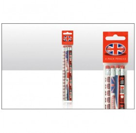 London Pencil Set Of 4