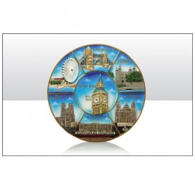London Resin large Plate 21cm