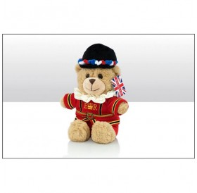 Beefeater Bear Soft Toy 15cm