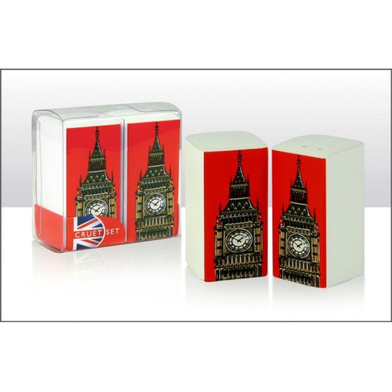 Big Ben Rectanguler Cruet Set