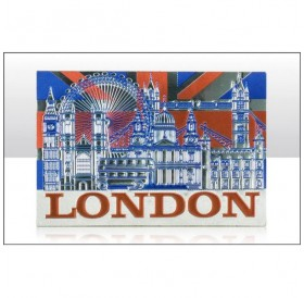 London Montage with UJ Foil Stamped Magnets
