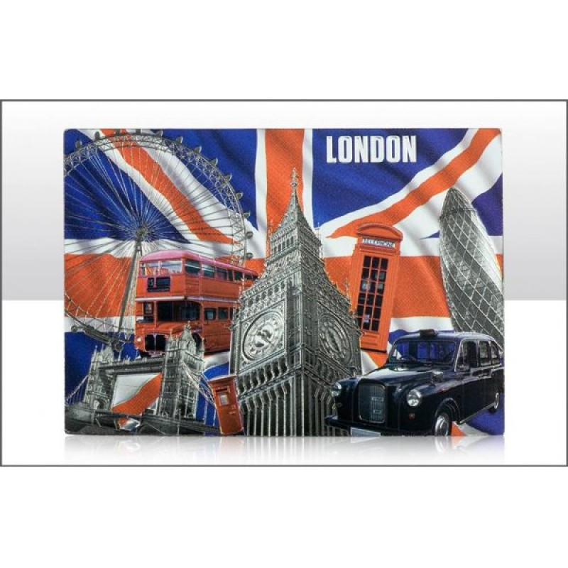 Capital London Foil Stamped Fridge Magnets