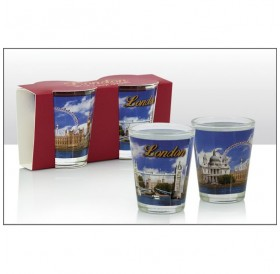 London Photographic Skyline 2 Shot Glasses
