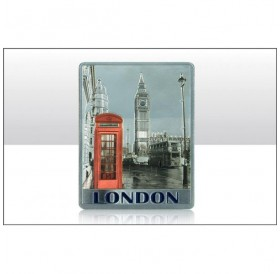 London Red Telephone Box Photo Foil Magnets