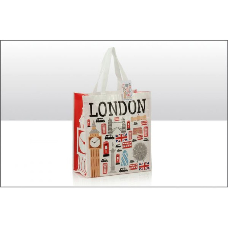 London Icons PP Non Woven Bags