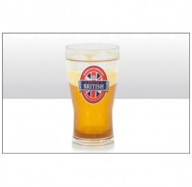 Best of British Liquid Filled Pint Glass