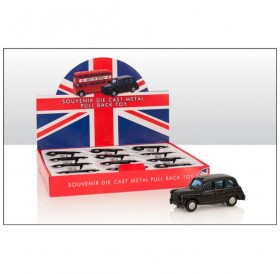 Small Pull Back Die Cast Taxi Models