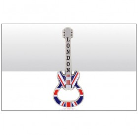 London Union Jack Guitar Bottle Opener Magnets