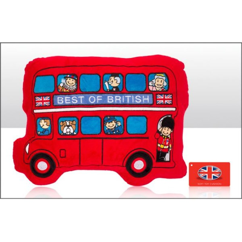 Bus Shaped Cushions 36cm