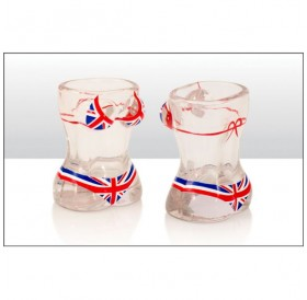 Union Jack Bikini Shot Glass