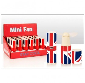 Mini Hand Held Fans Union Jack